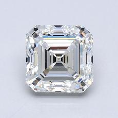 Recommended Stone #2: 1,30-Carat Asscher Cut Diamond