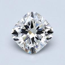1.20-Carat Cushion Diamond Very Good G VS1