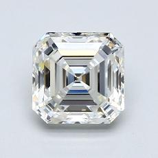 1.35 Carat 上丁方形 Diamond 非常好 G VVS2