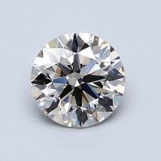 1.04-Carat Round Diamond Ideal K VVS2