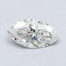 推薦鑽石 #3: 0.60  克拉欖尖形切割鑽石