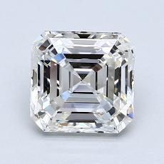 Recommended Stone #2: 1.50-Carat Asscher Cut Diamond