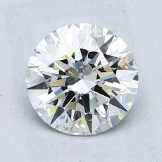 1.50 Carat 圆形 Diamond 理想 G SI1