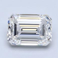Recommended Stone #2: 2.50-Carat Emerald Cut Diamond
