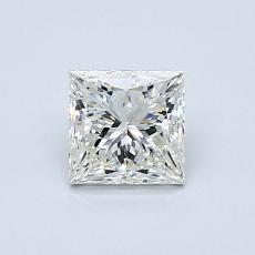 オススメの石No.3:0.71カラットのプリンセスカットダイヤモンド