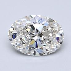 1.22-Carat Oval Diamond Very Good H VS2