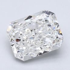1.80-Carat Radiant Diamond Very Good G VS2