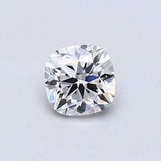 0.50-Carat Cushion Diamond ASTOR F VS1