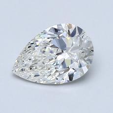 1.00 Carat 梨形 Diamond 非常好 H VS2