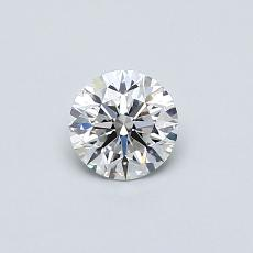 0,40 Carat Rond Diamond Idéale D IF