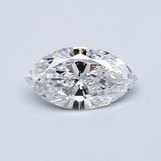 Recommended Stone #1: 0,46-Carat Marquise Cut Diamond