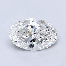 Recommended Stone #1: 0.91-Carat Oval Cut Diamond