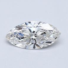 0.50-Carat Marquise Diamond Very Good H VS1