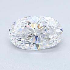 推荐宝石 4:1.11克拉椭圆形切割钻石