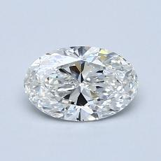 Recommended Stone #2: 0.70-Carat Oval Cut Diamond