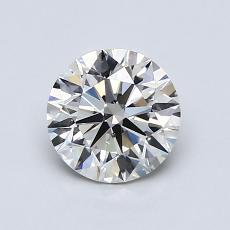 1,00 Carat Rond Diamond Idéale I SI1