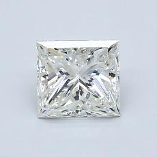1.00 Carat 公主方形 Diamond 非常好 J SI1