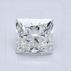 1.01 Carat 公主方形 Diamond 非常好 F VS1