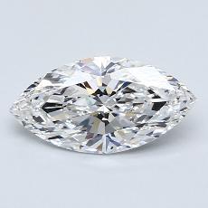 推薦鑽石 #3: 1.20 克拉欖尖形切割
