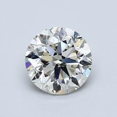 1.04 Carat 圓形 Diamond 非常好 K SI2