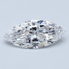 推薦鑽石 #1: 1.00 克拉欖尖形切割