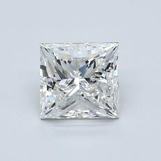 推薦鑽石 #1: 0.91 克拉公主方形切割