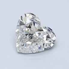 Recommended Stone #1: 1.01-Carat Heart Shaped