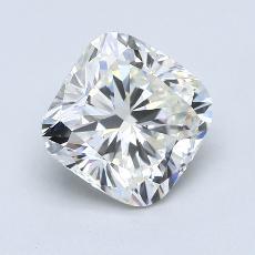 3.01-Carat Cushion Diamond Very Good J VS2