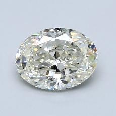 1.20-Carat Oval Diamond Very Good K VS1