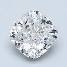 推荐宝石 4:1.90 克拉垫形钻石