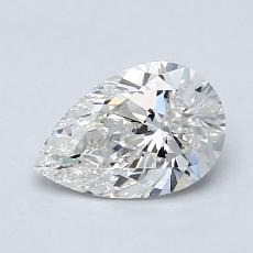 Recommended Stone #4: 0,79-Carat Pear Cut Diamond
