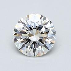 0.99 Carat 圆形 Diamond 理想 J VS2