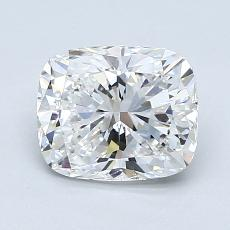 1.30-Carat Cushion Diamond Very Good F SI1