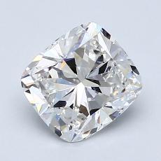 Pierre recommandée n°4: Diamant Taille coussin de 1,71carat