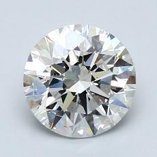 推薦鑽石 #3: 1.72  克拉圓形切割