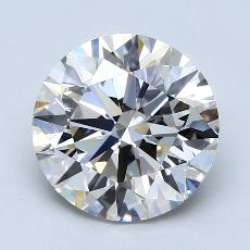 Recommended Stone #4: 3.42-Carat Round Cut Diamond