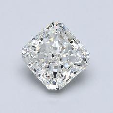1.01-Carat Radiant Diamond Very Good I VS1
