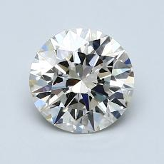 Recommended Stone #1: 1,25-Carat Round Cut