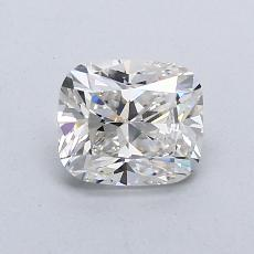 0.82-Carat Cushion Diamond Very Good H VVS2