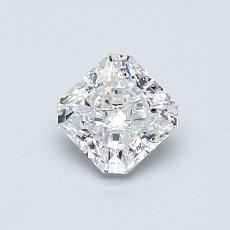 0,61-Carat Radiant Diamond Very Good E VS1