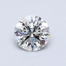 0.80 Carat 圓形 Diamond 理想 G VVS2