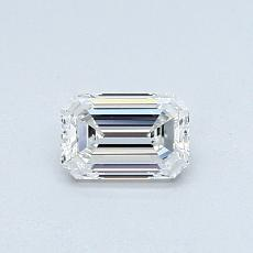 Recommended Stone #4: 0.46-Carat Emerald Cut Diamond