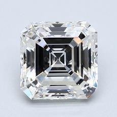 Pierre recommandée n°3: Diamant taille Asscher 1,94 carat