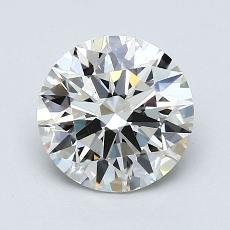 1.01 Carat 圓形 Diamond 理想 I VS1