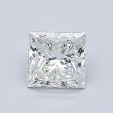 1.01-Carat Princess Diamond Very Good E VVS2