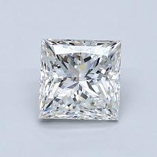 Recommended Stone #3: 1.06-Carat Princess Cut Diamond