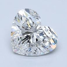 Recommended Stone #2: 1.80-Carat Heart Cut Diamond