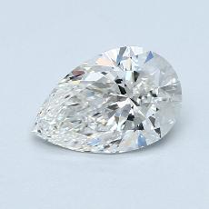 1.14 Carat 梨形 Diamond 非常好 F IF