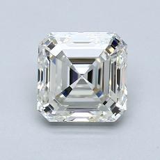 Pierre recommandée n°3: Diamant taille Asscher 1,30 carat