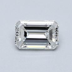 Recommended Stone #4: 0.70-Carat Emerald Cut Diamond